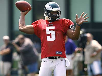 Donovan McNabb´s comments today about Plaxico Burress today were misinterpreted. (David Maialetti / Staff Photographer)
