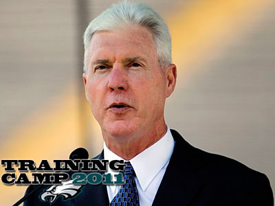 "Packers general manager Ted Thompson thinks the Eagles got ""some good people"" out of free agency. (Morry Gash/AP Photo)"