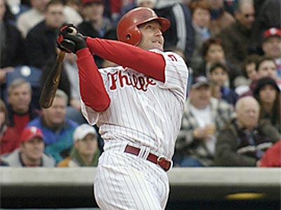 Former Phillie Jim Thome is headed back to Cleveland to play for the Indians.