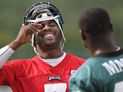 """""""We want to be as precise as we can be,"""" Michael Vick said Thursday. (Michael Bryant/Staff Photographer)"""