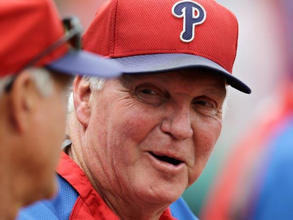 Former Phillies manager Charlie Manuel. (Carolyn Kaster/AP)