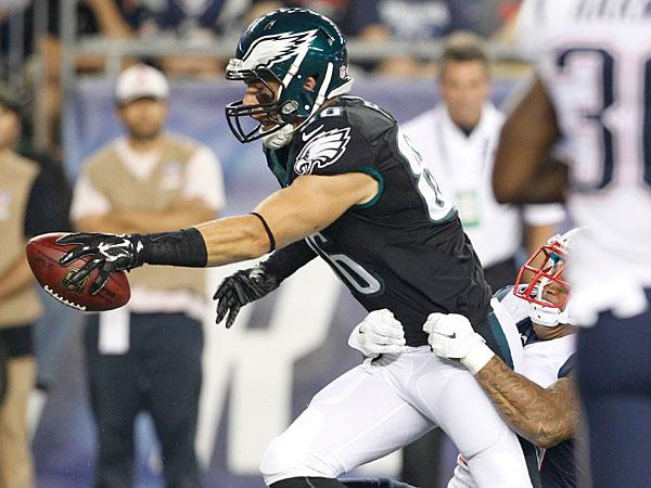 Eagles tight end Zach Ertz. (Ron Cortes/Staff Photographer)