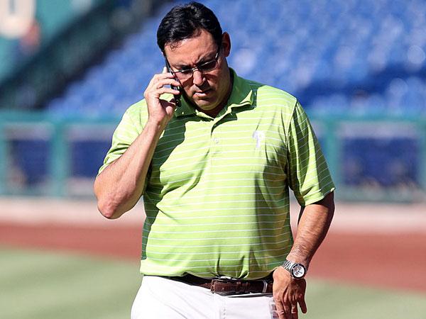 Phillies general manager Ruben Amaro. (Bill Streicher/USA Today)