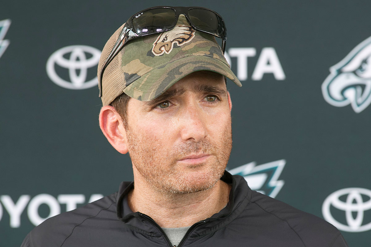 """We´re going to have to take risks,"" says Eagles VP Howie Roseman."