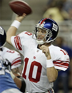 Coming off a Super Bowl win, what´s Eli Manning´s fantasy value this season? (AP)