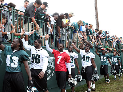 The Eagles will have their 2012 training camp at Lehigh University. (Steven M. Falk/Staff Photographer)