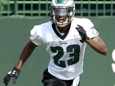 Dominique Rodgers-Cromartie returns to outside cornerback this season. (Yong Kim/Staff Photographer)