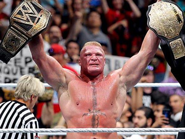 Brock Lesnar. (Photo courtesy of WWE.com)