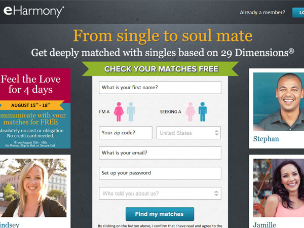Success with dating website