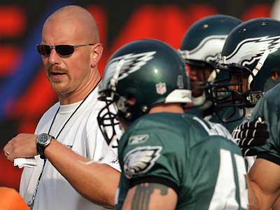 The Eagles have reportedly fired defensive line coach Rory Segrest.  (Yong Kim/Staff file photo)