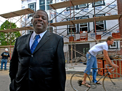 Carl Greene, director of the Philadelphia Housing Authority. (File photo)
