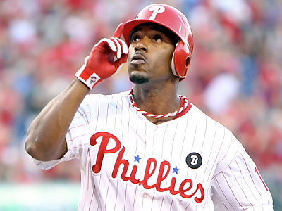 Jimmy Rollins will start for the first time since straining his groin on Aug. 21 (Steven M. Falk/Staff Photographer)