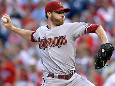 Diamondbacks ace Ian Kennedy could give the Phillies trouble in the National League Division Series. (H. Rumph Jr./AP)