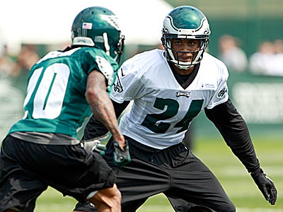 """He´s a good communicator, so it feels like he´s ready to go."" Andy Reid said about Nnamdi Asomugha´s status. (Yong Kim/Staff Photographer)"