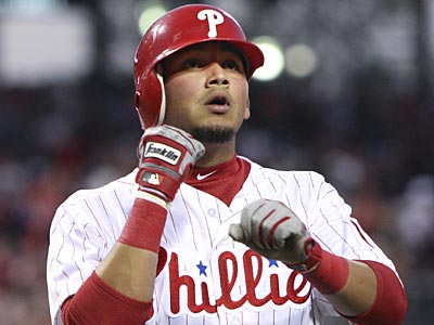 "Freddy Galvis has been out of a brace for ""about two weeks,"" he told reporters. (Steven M. Falk/Staff file photo)"