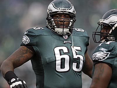 Tackle King Dunlap has missed the last two Eagles games. (David Maialetti/Staff file photo)