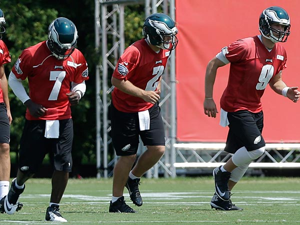 The Eagles offense has improve their speed since day one. (AP Photo/Matt Rourke)