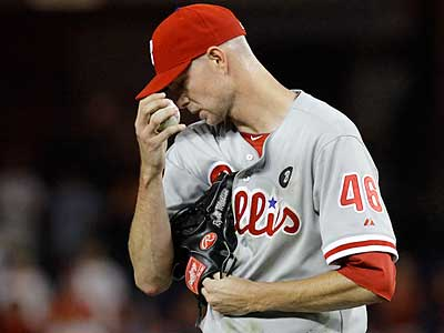 The Phillies and Ryan Madson have not yet agreed to terms on a new contract. (Jacquelyn Martin/AP)