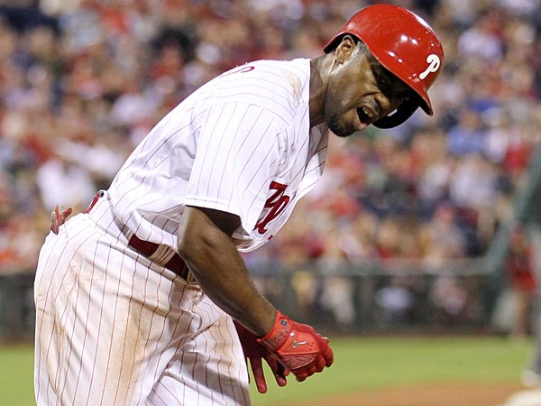 Phillies shortstop Jimmy Rollins. (Yong Kim/Staff Photographer)