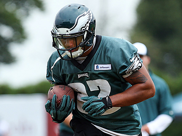 Eagles running back Chris Polk. (Bill Streicher/USA Today Sports file photo)