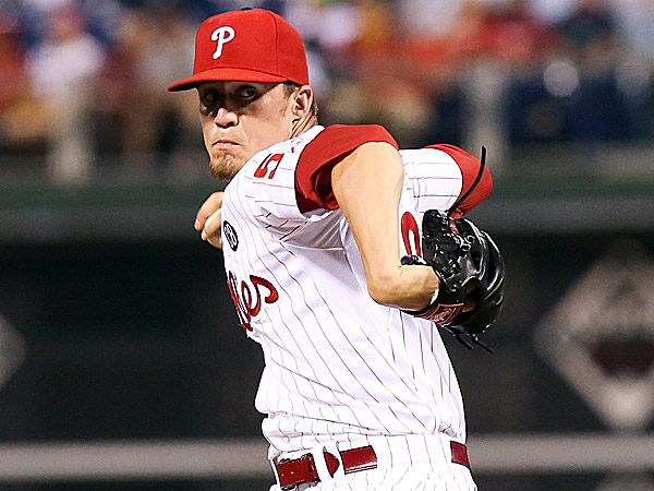 Phillies relief pitcher Ken Giles. (Bill Streicher/USA TODAY Sports)