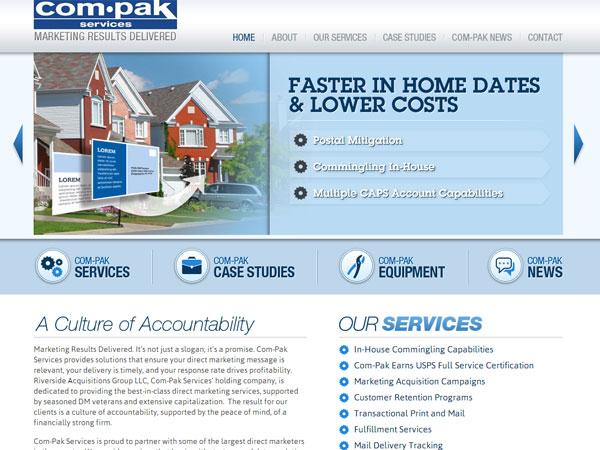A screen grab from com-pak.com.