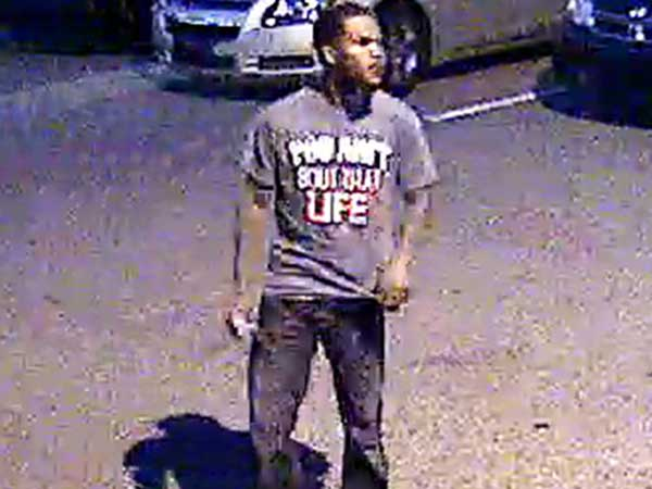 Police say they are looking for this man in connection with a fatal shooting outside the Dell Music Center. (Photo courtesy of Philadelphia police)