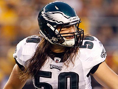 Who will make the team at linebacker with Casey Matthews? (Yong Kim/Staff Photographer)
