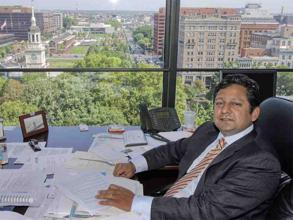 Jay Shah of Hersha Hospitality Trust. (Akira Suwa / Staff Photographer)