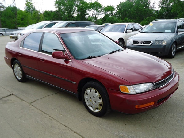 The 1996 Honda Accord is one of the most stolen cars in New Jersey and Pennsylvania.