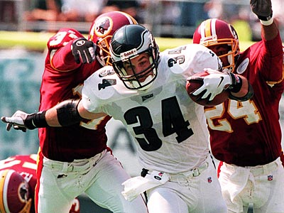 Fullback Kevin Turner, 41, spent five seasons with the Birds from 1995-1999. (File Photo / George Miller)