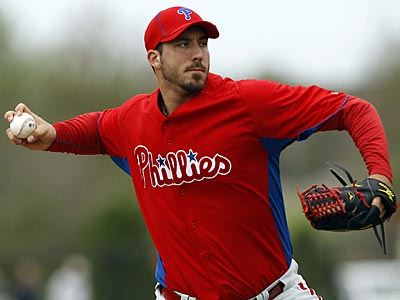 Phillippe Aumont is likely to spend the remainder of the season in the majors. (Yong Kim/Staff file photo)