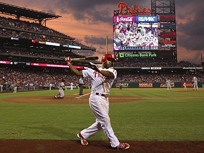 Jimmy Rollins hit .250 with 23 home runs in 2012. (Steven M. Falk/Staff Photographer)