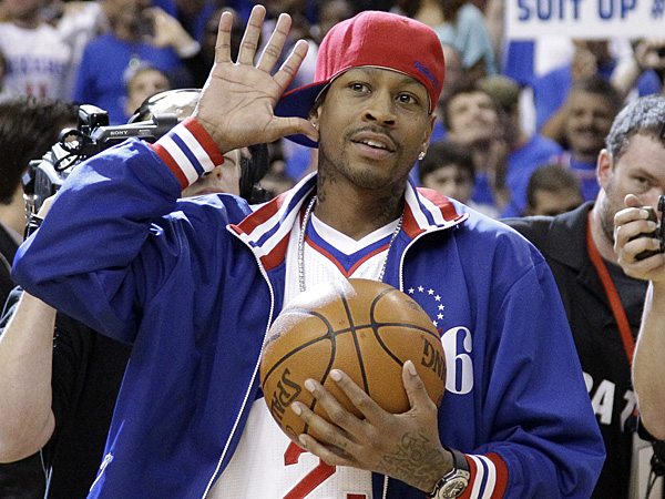 Former Philadelphia 76ers guard Allen Iverson. (Matt Slocum/AP file photo)