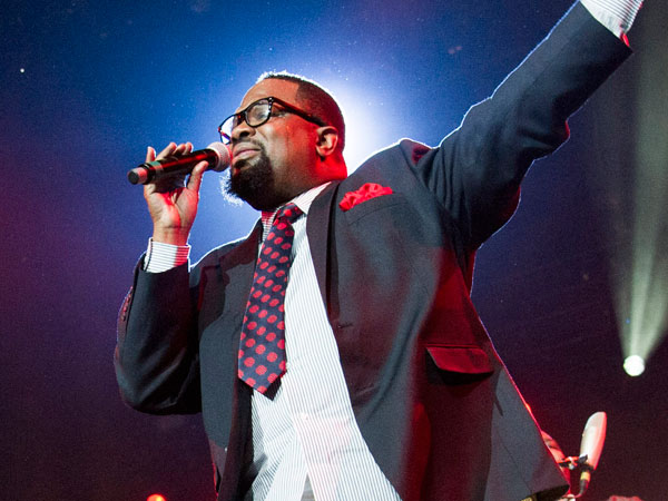 Hezekiah Walker performs during McDonald´s Gospelfest 2013 at the Prudential Center on Saturday, May 11, 2013 in Newark, NJ. (Photo by Charles Sykes/Invision/AP)