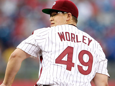 Phillies pitcher Vance Worley. (Yong Kim/Staff Photographer)