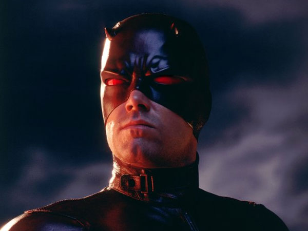 "Affleck played Marvel Comic´s superhero ""Daredevil"" in the eponymous 2003 film."