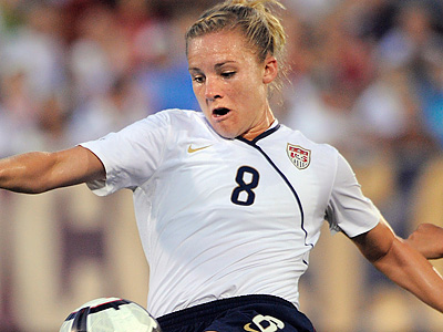 Independence forward Amy Rodriguez will likely be on the U.S. roster again. (Fred Beckham/AP file photo)