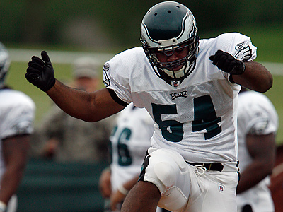 Brandon Graham will start at LDE for the Eagles as a rookie. (David Maialetti / Staff Photographer)