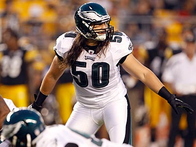 Will Casey Matthews hold on to the middle linebacker position? (Yong Kim/Staff Photographer)