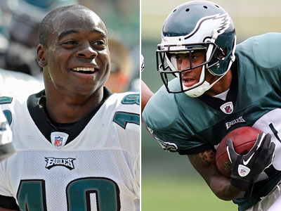Will Eagles receivers Jeremy Maclin and DeSean Jackson put up strong fantasy numbers? (Staff Photos)