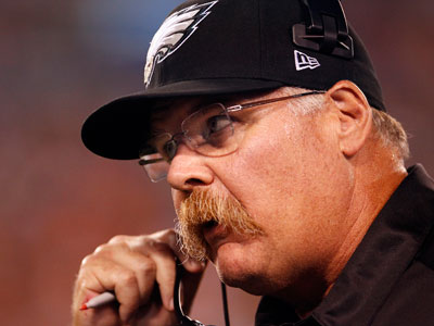 Eagles head coach Andy Reid is 6-7 in season openers. (David Maialetti/Staff Photographer )