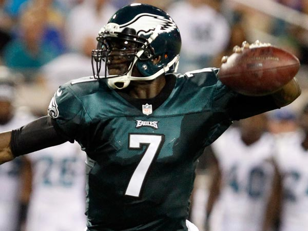 Michael Vick. (Ron Cortes/Staff Photographer)