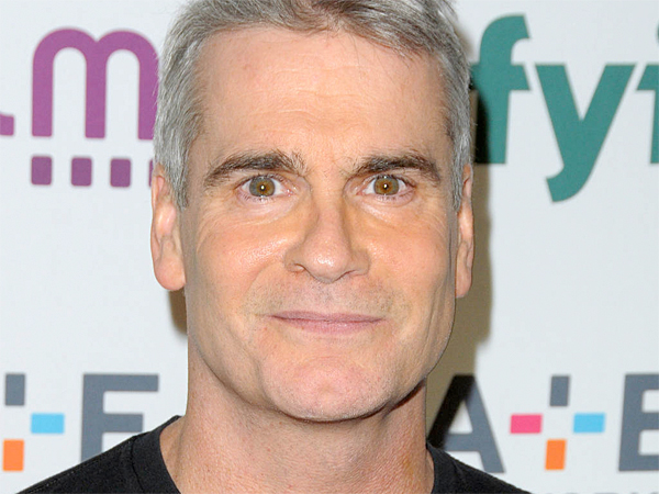 Henry Rollins at the 2014 A+E Networks Upfront red carpet arrivals. (Ivan Nikolov/WENN.com)