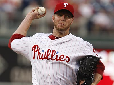 Roy Halladay aims to halt the Phils´ two-game slide. (Ron Cortes/Staff Photographer)