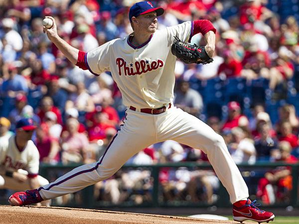 Phillies starting pitcher Roy Halladay. (Christopher Szagola/AP)