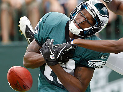 Wide receiver Terrance Turner was one of the four players released from the Eagles today. (Yong Kim/Staff Photographer)
