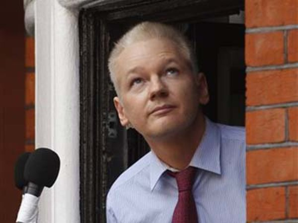 WikiLeaks founder Julian Assange (AP Photo/Sang Tan)