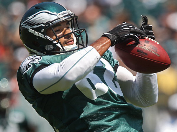 Eagles tight end Clay Harbor. (Michael Bryant/Staff Photographer)