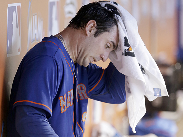 Mets starting pitcher Matt Harvey. (Wilfredo Lee/AP)